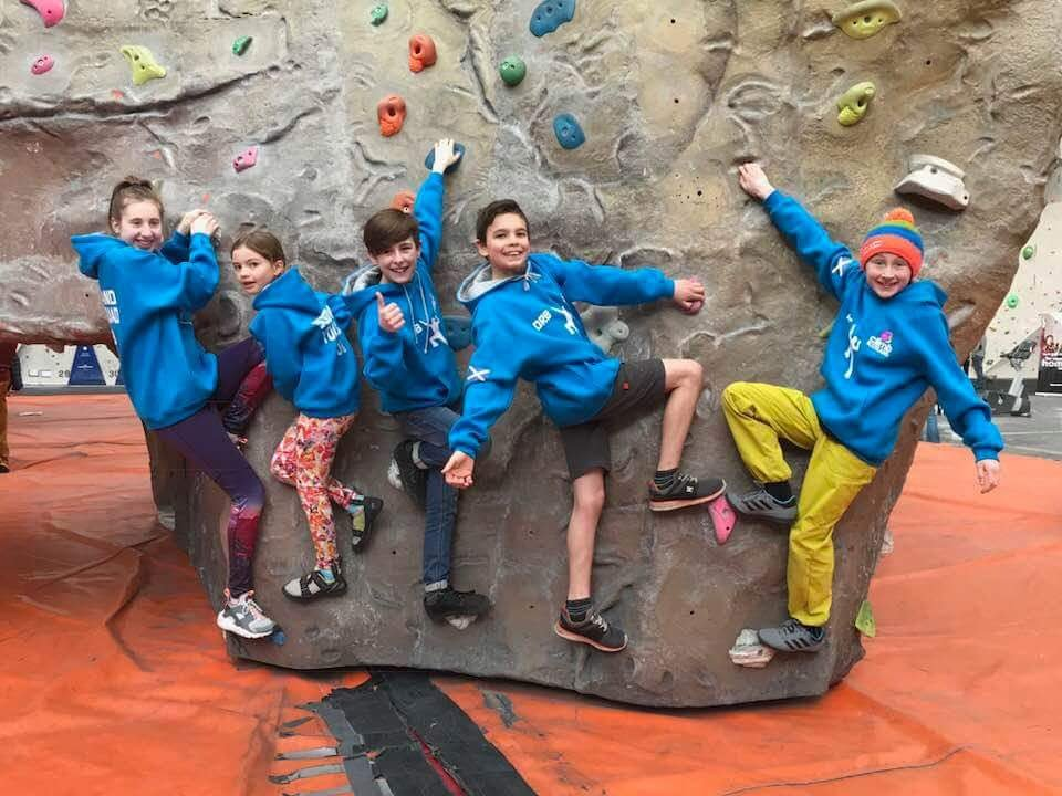 Indoor climbing Things to do in Moray with Outdoor learning and adventure Outfit Moray