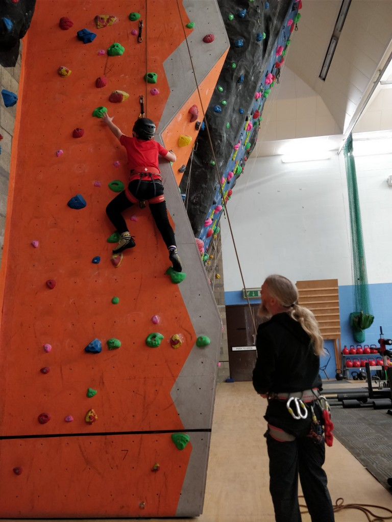 Indoor climbing classes Things to do in Moray with Outdoor learning and adventure Outfit Moray