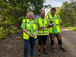 Cairngorm to Coast volunteers