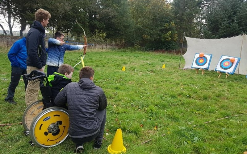 Outdoor learning and adventure for vulnerable groups in Moray
