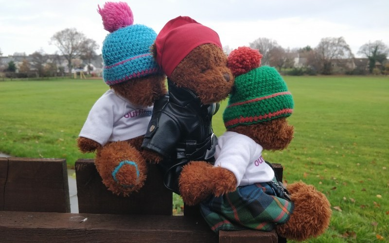 Belay Bear Outfit Moray's Adventurous Mascot