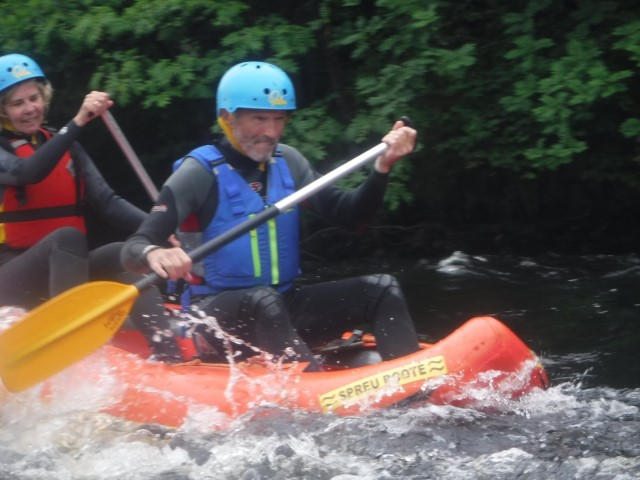 Adult adventure with Outfit Moray. Hen Party, stag party, corporate days, team building