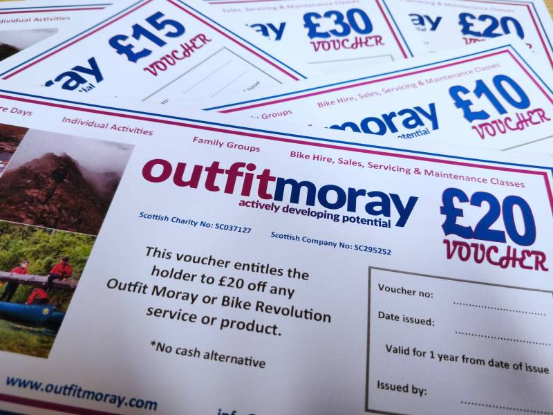 Outfit Moray Gift Vouchers